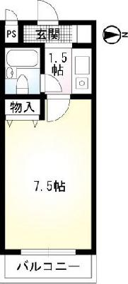 TWIN HOTARUNOⅠ,Ⅱ の間取り
