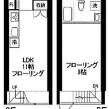 広々2部屋分!