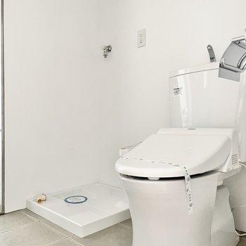 水回りはアメセパタイプ。トイレはウォシュレット付き◎