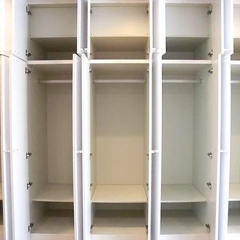 収納の全貌です◎※写真は別部屋です