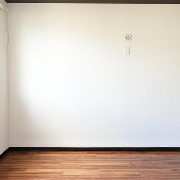 お部屋はしかくくて使いやすい※写真は別部屋です