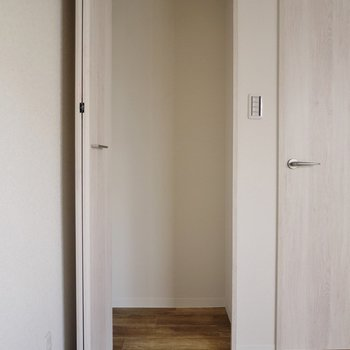 洋室にはこの収納が2箇所!