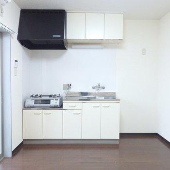 1階のお部屋はキッチンが。