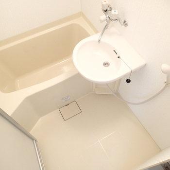 洗面台はなく2点ユニットとなります。