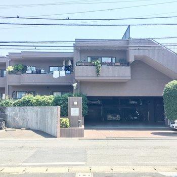 大きなマンション!!