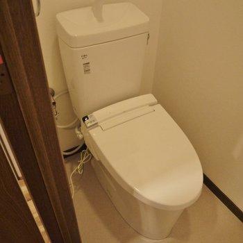 トイレのスペースもゆったり。