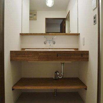 造作の洗面台がドツボ★
