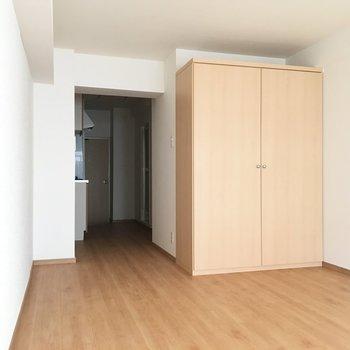 玄関からお部屋までは一直線!