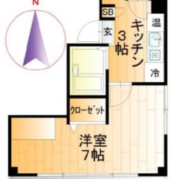 居室が横長なんです