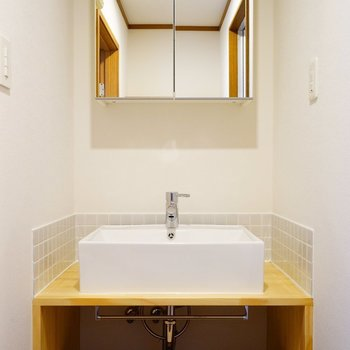【イメージ】大工さんお手製の人気の洗面台
