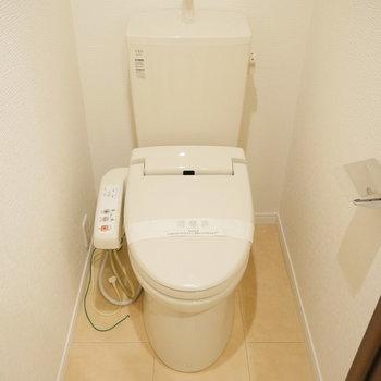 トイレもこのスペースに。