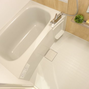 お風呂もピカピカ、綺麗ですよ〜