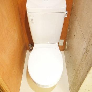 トイレはこちら。