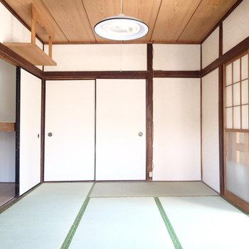 一番日当たりの良い和室のお部屋。