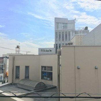 眺望は住宅街ビューーー