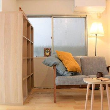 【家具イメージ】落ち着きのあるリビングに仕上げちゃってください