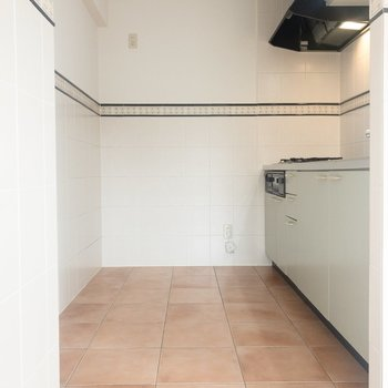 【LDK】キッチンもスペース十分。