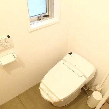 トイレはスッキリ。