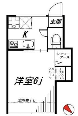 昭和のアパート住みこなそう の間取り