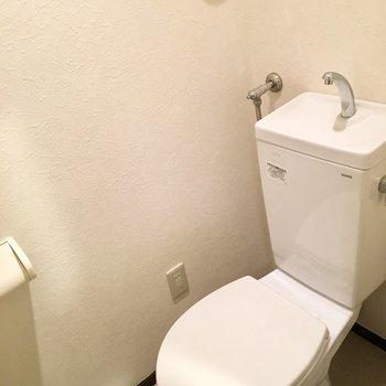 トイレはウォシュレットはないけどきれいです。