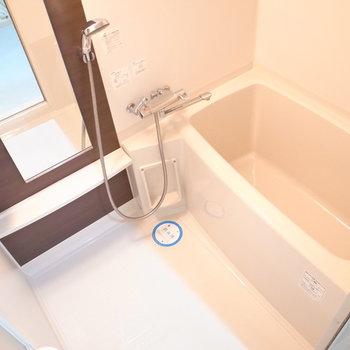 浴室乾燥機付きはうれしい!