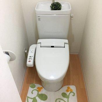 ウォシュレット付きのトイレ!嬉しい!