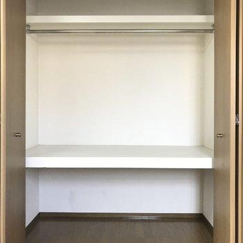 洋室の収納は2部屋とも同じ大きさ!