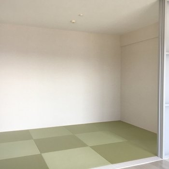 ここが和室。モダン。