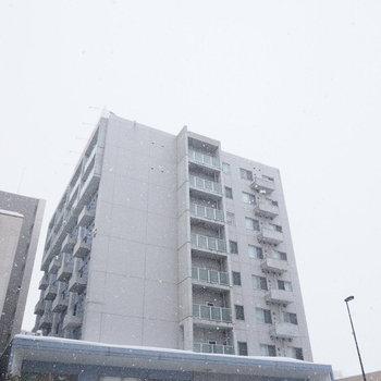 9階建のマンションです