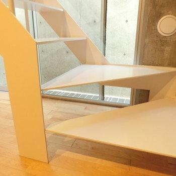 階段のここに座って読書したいな ※写真は同階反転間取りの別部屋