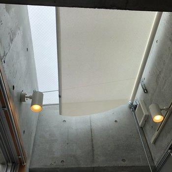 【上階6.5帖】キッチンの上を見上げてみると…