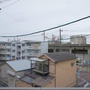窓からの眺望。※写真は前回掲載時のものです。