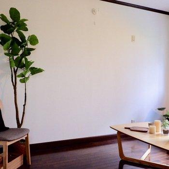 【6帖洋室】家具も十分置くことできます◎