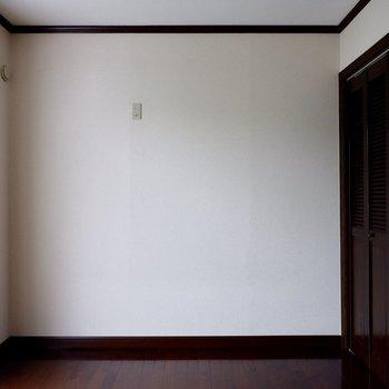 【5帖洋室】クローゼットも付いてます。
