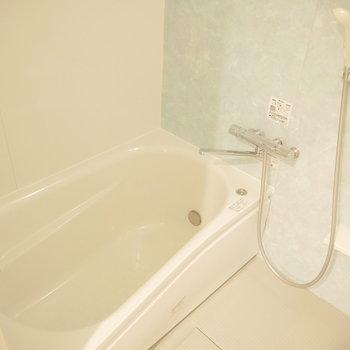 お風呂も広め。
