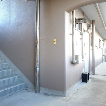 駅チカなので4階まで階段は頑張れそう