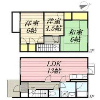 3LDKのお部屋は、ぜひとも仲良し家族で住みたいね。
