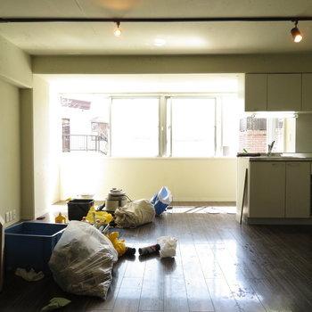 なんでも家具が置けそう!※掲載写真は工事中のものです。
