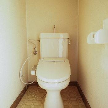 【工事中】綺麗なトイレは既存利用です
