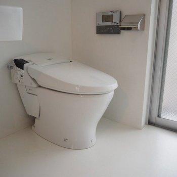 トイレです。※写真は別部屋