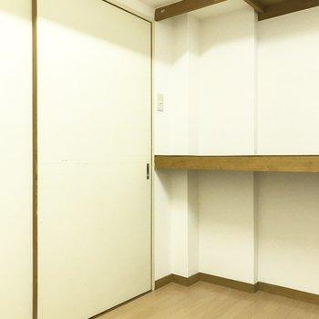 ここにも物置部屋が隠れていました!!!