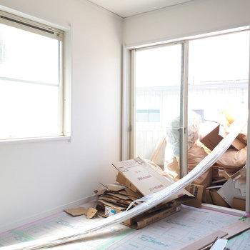 【工事中】寝室も2面採光◎