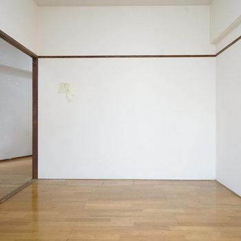 【工事前】壁にはWICを