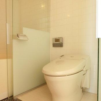 ウォシュレット付きトイレ※写真は前回募集時のものです
