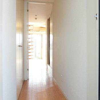 玄関からの眺め※写真は前回募集時のものです