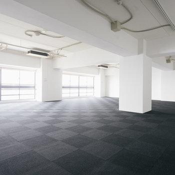 【415号室】134㎡のフレキシブルな空間