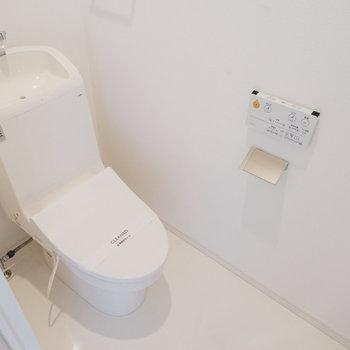 【930号室】トイレもウォシュレット付きで