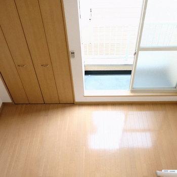上からお部屋を一望してみる。