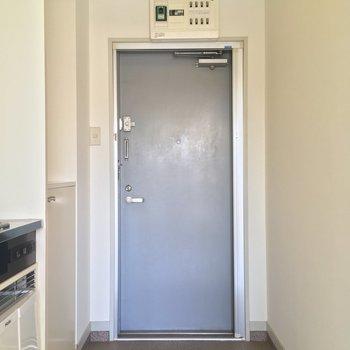 そしてこちらが玄関!