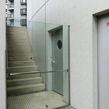 こんな階段も